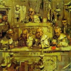 Courtroom Study (date inconnue)